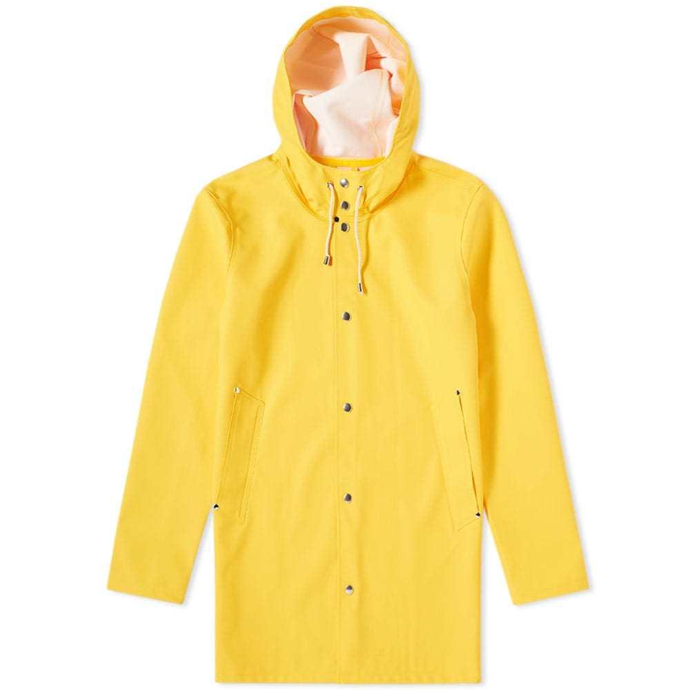 Photo: Stutterheim Stockholm Raincoat Yellow