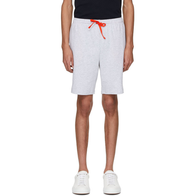 Photo: Boss Grey Contrast Logo Shorts