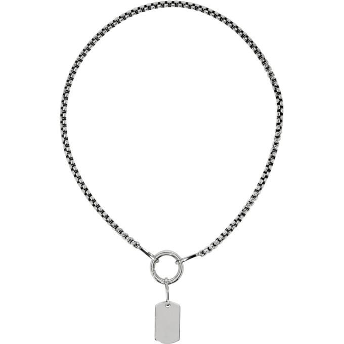 Photo: Martine Ali Silver Ty Chain Necklace