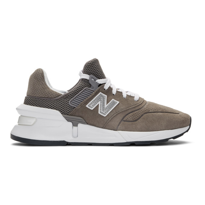 b99830dcd79 Comme des Garcons Homme Grey New Balance Edition MS997 Sneakers