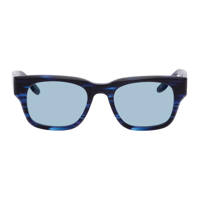 Photo: Western Hydrodynamic Research Black and Blue Barton Perreira Edition Matte Sunglasses