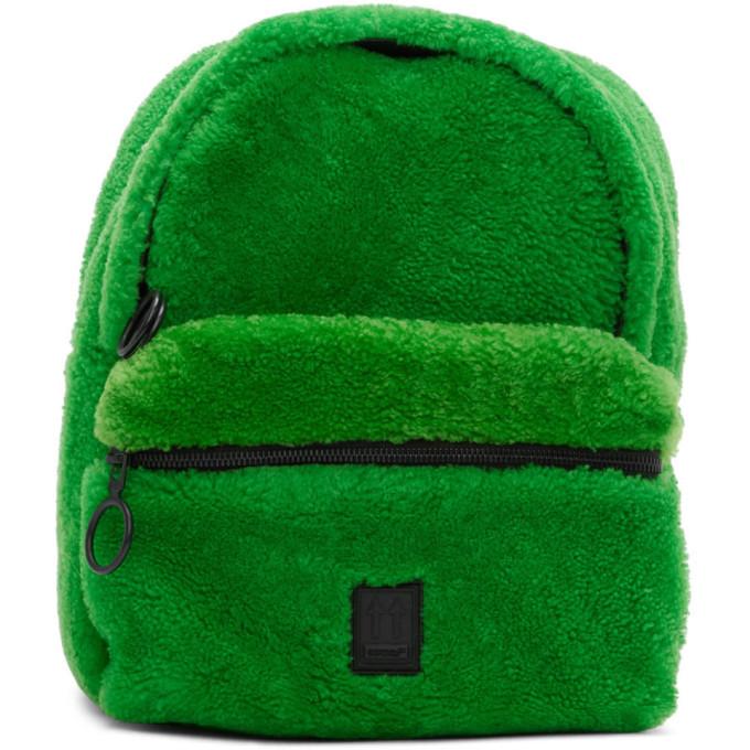 Photo: Off-White Green Mini Sherpa Backpack