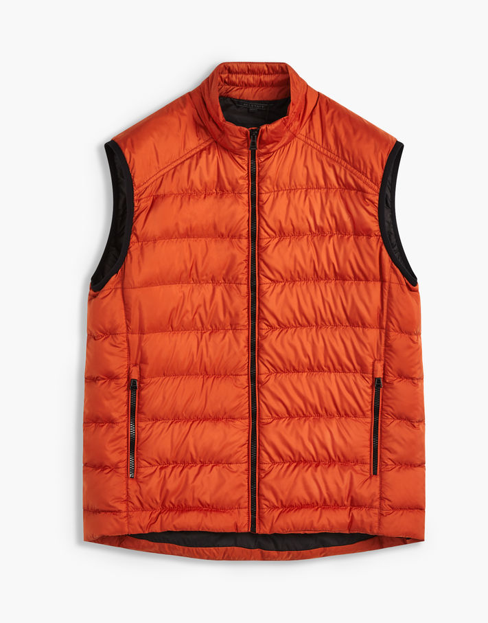 Photo: Belstaff Rodings Quilted Vest Blue