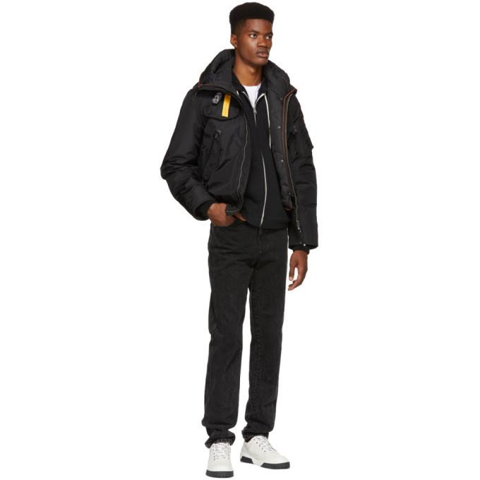 Parajumpers Black Down Masterpiece Base Gobi Jacket