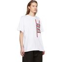 Raf Simons White New Order Power, Corruption and Lies Movement Regular T-Shirt