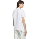Stella McCartney White Faces In Places T-Shirt