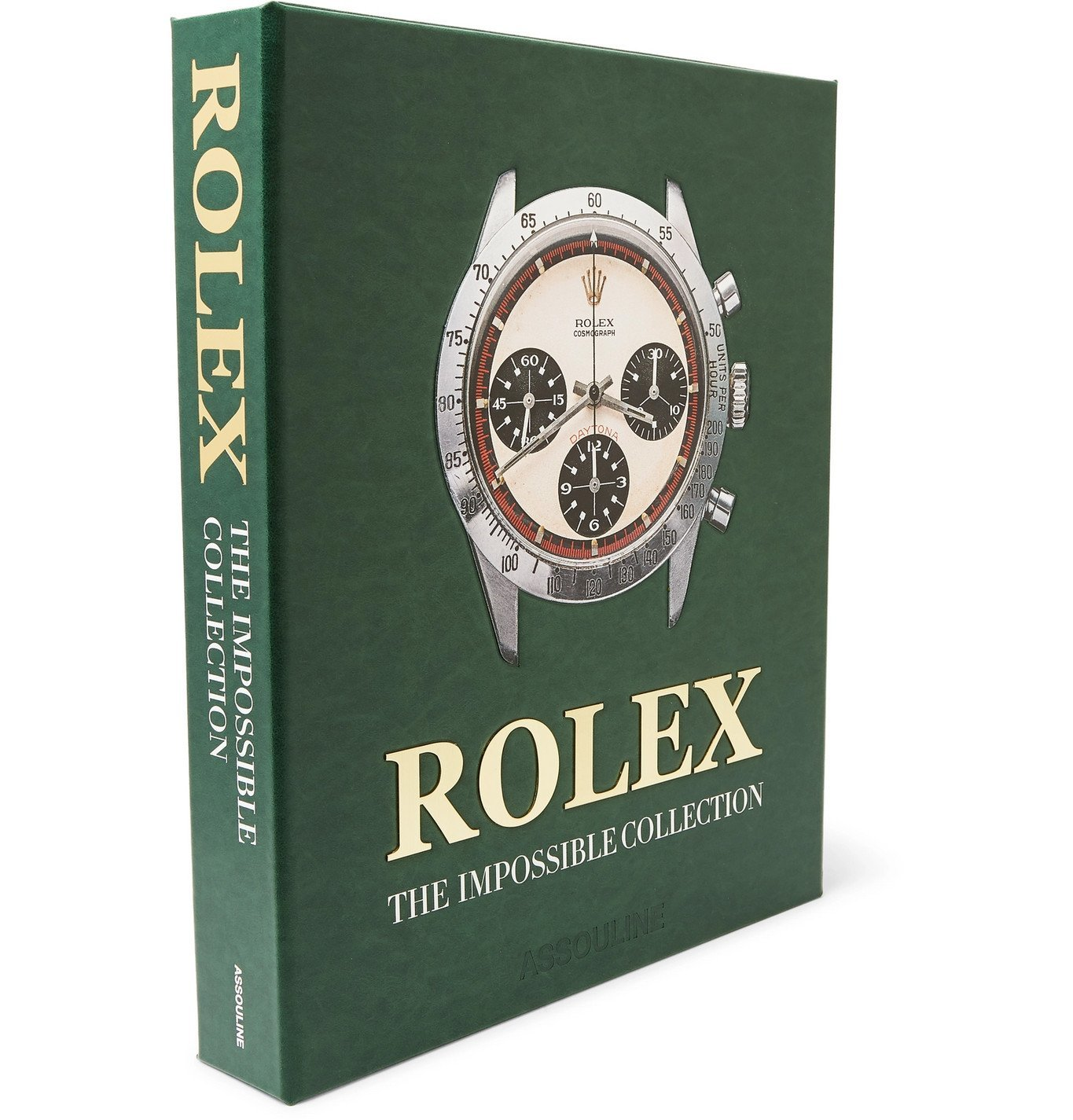 Photo: Assouline - Rolex: The Impossible Collection Hardcover Book - Green