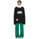 Raf Simons Black Peter De Potter Edition Kollaps Patches Sweater