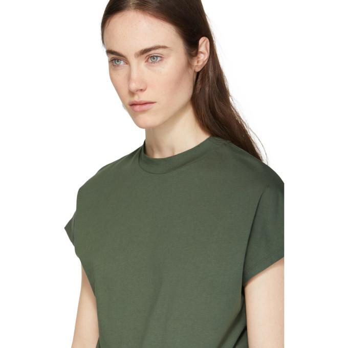 Won Hundred Green Proof High Neck T-Shirt