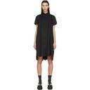 Sacai Black Shirt Dress