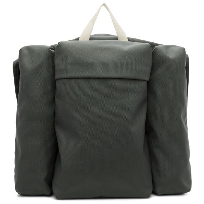 Photo: Jil Sander Green Climb Harness Multi Pockets Backpack