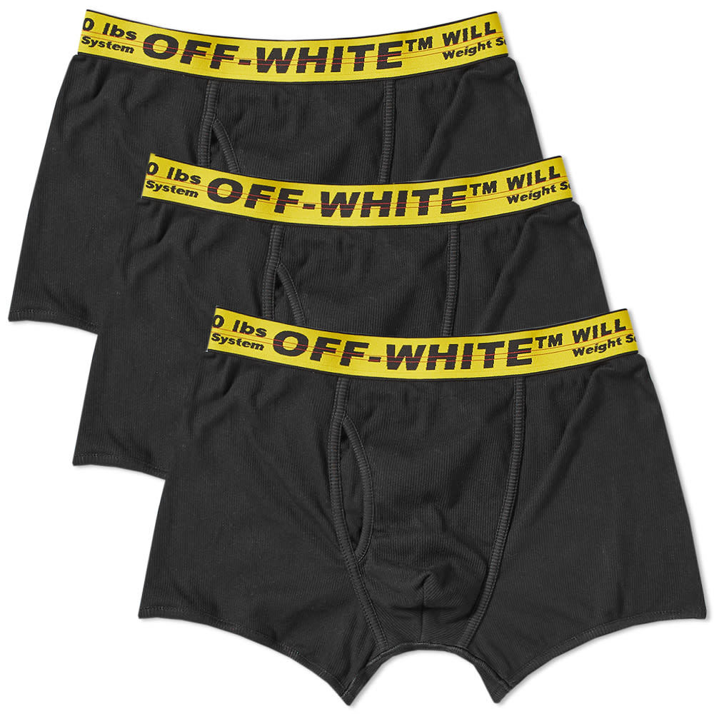 Photo: Off-White Boxer Short - 3 Pack