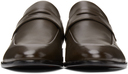 Hugo Brown Penny Loafers