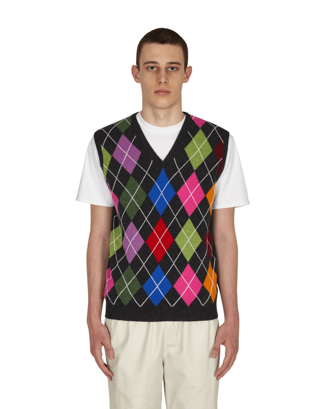 Photo: Noah Argyle Vest Charcoal