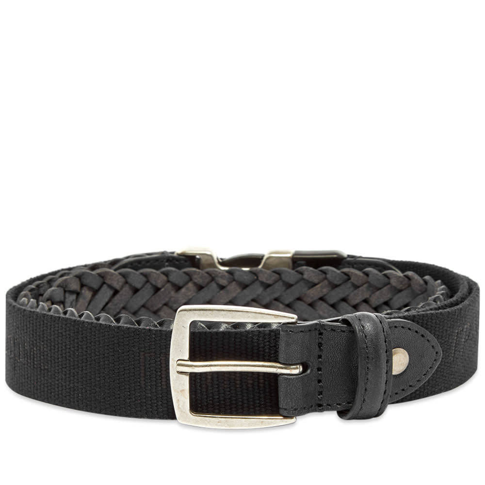 Photo: GR-Uniforma Woven Leather & Webbing Hybrid Belt