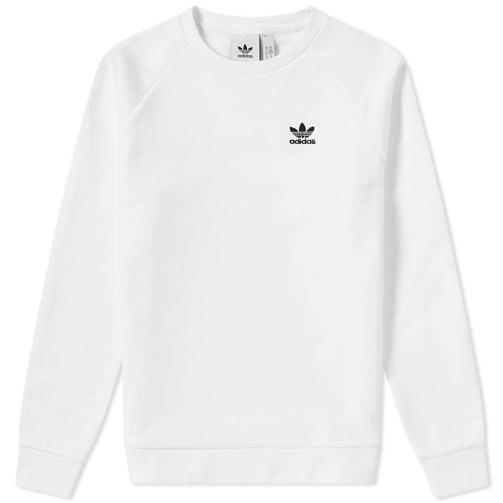 Adidas Essential Crew Sweat White