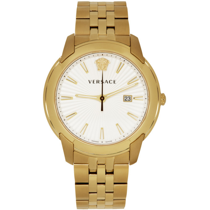 Versace Gold V-Urban Watch