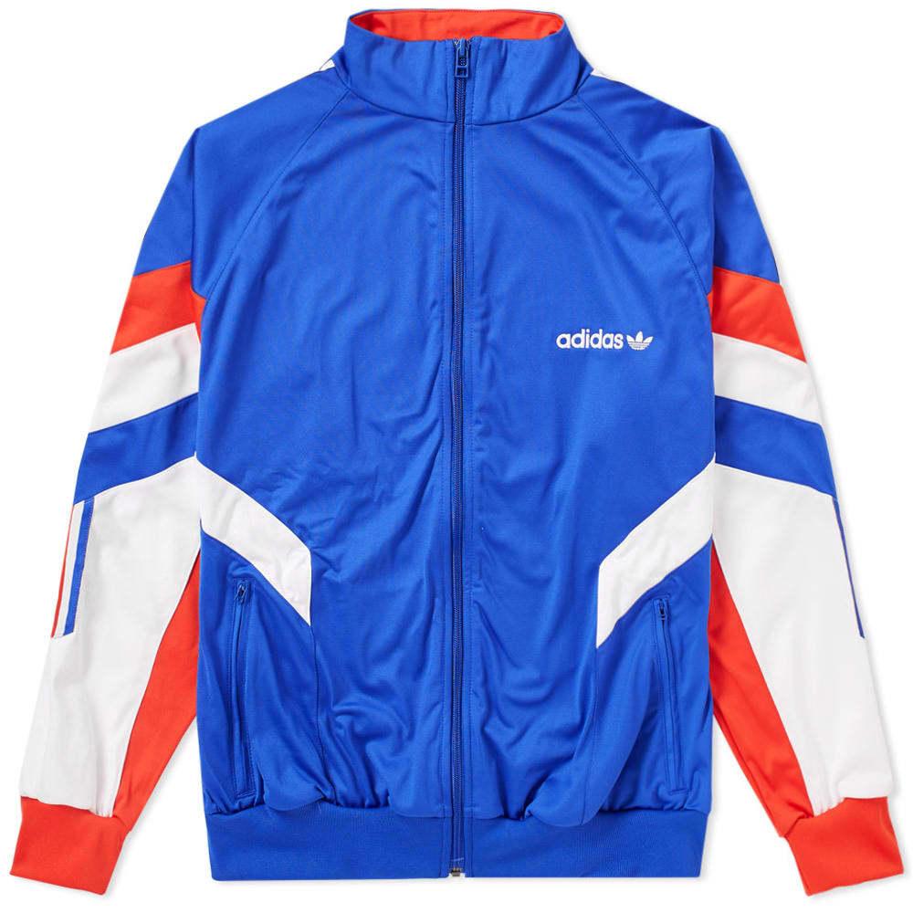 Adidas Aloxe Track Top Blue