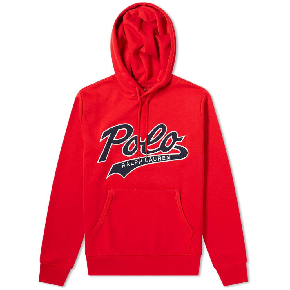 Photo: Polo Ralph Lauren Applique Logo Popover Hoody