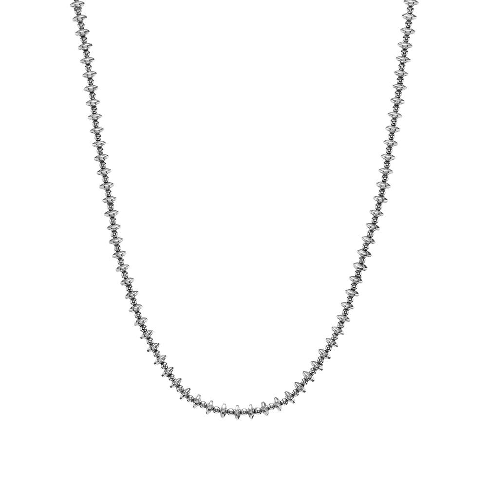 Photo: Mikia Hematite Roundel Stone Necklace