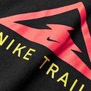 Nike Running - Trail Logo-Print Dri-FIT T-Shirt - Black