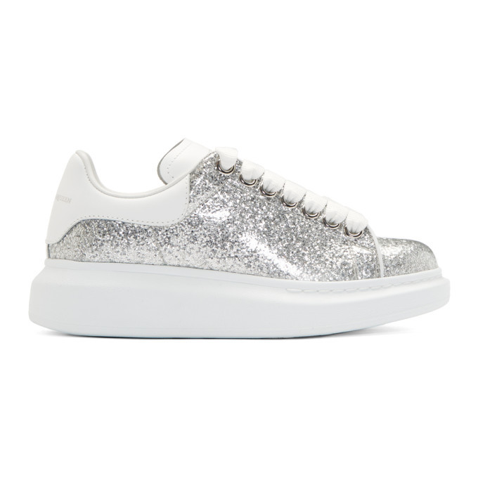 Alexander McQueen Silver and White