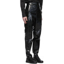 Dunhill Black Eel Tapered Trousers