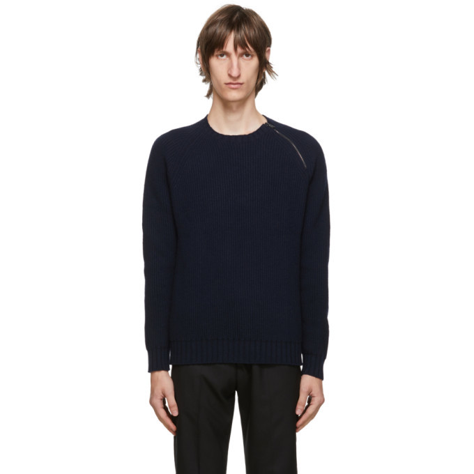 Photo: Belstaff Navy Fishermans Sweater