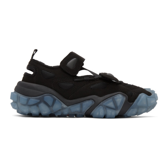 Photo: Acne Studios Black and Blue Velcro Sneakers