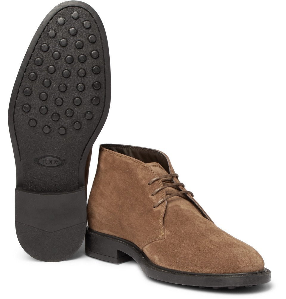 Tod's - Suede Desert Boots - Men - Brown