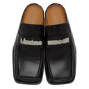 Martine Rose SSENSE Exclusive Black Leather Loafers