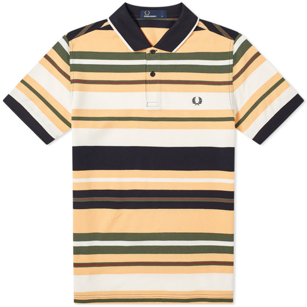 Photo: Fred Perry Bold Stripe Polo