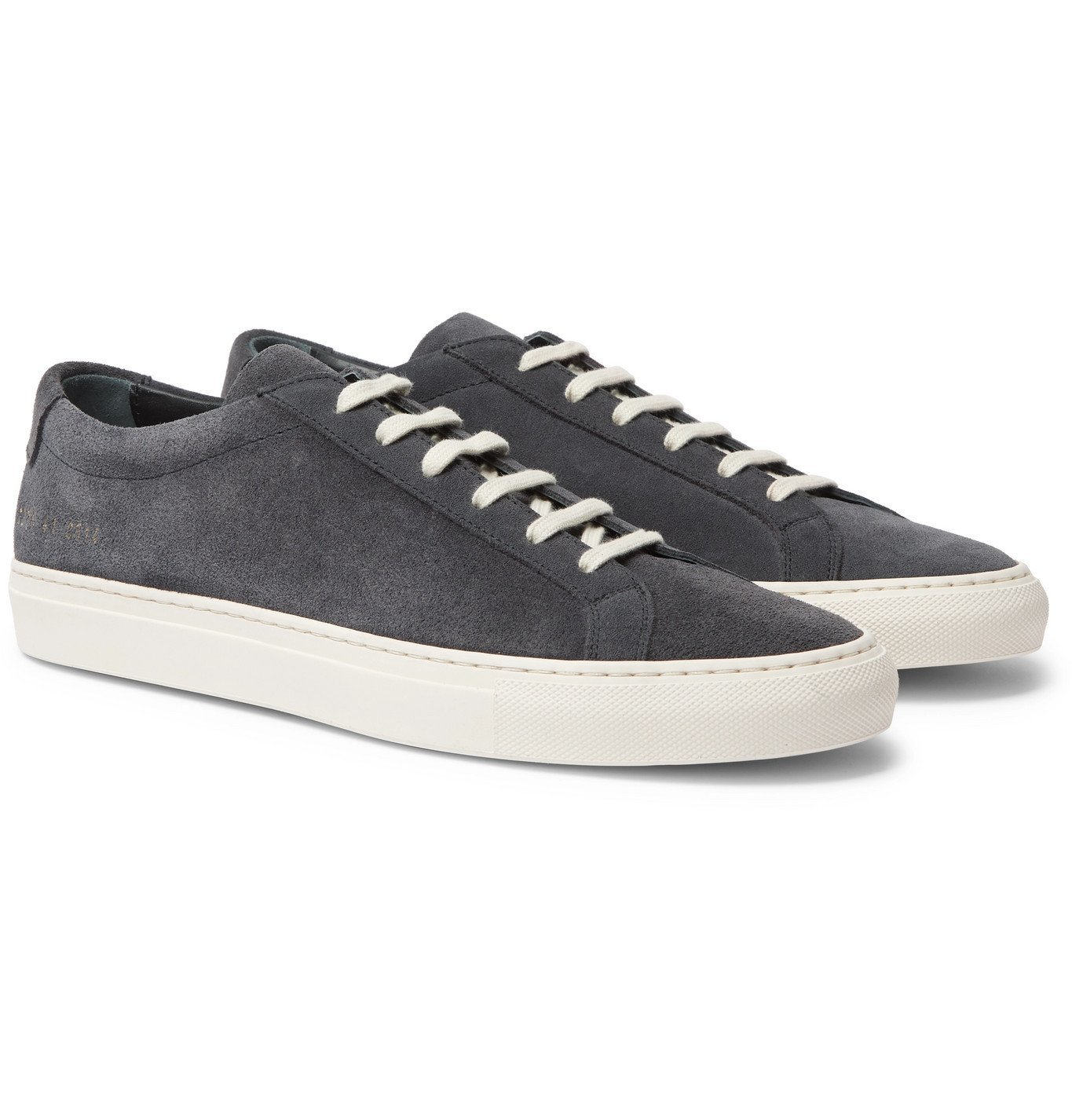 Photo: Common Projects - Achilles Suede Sneakers - Gray