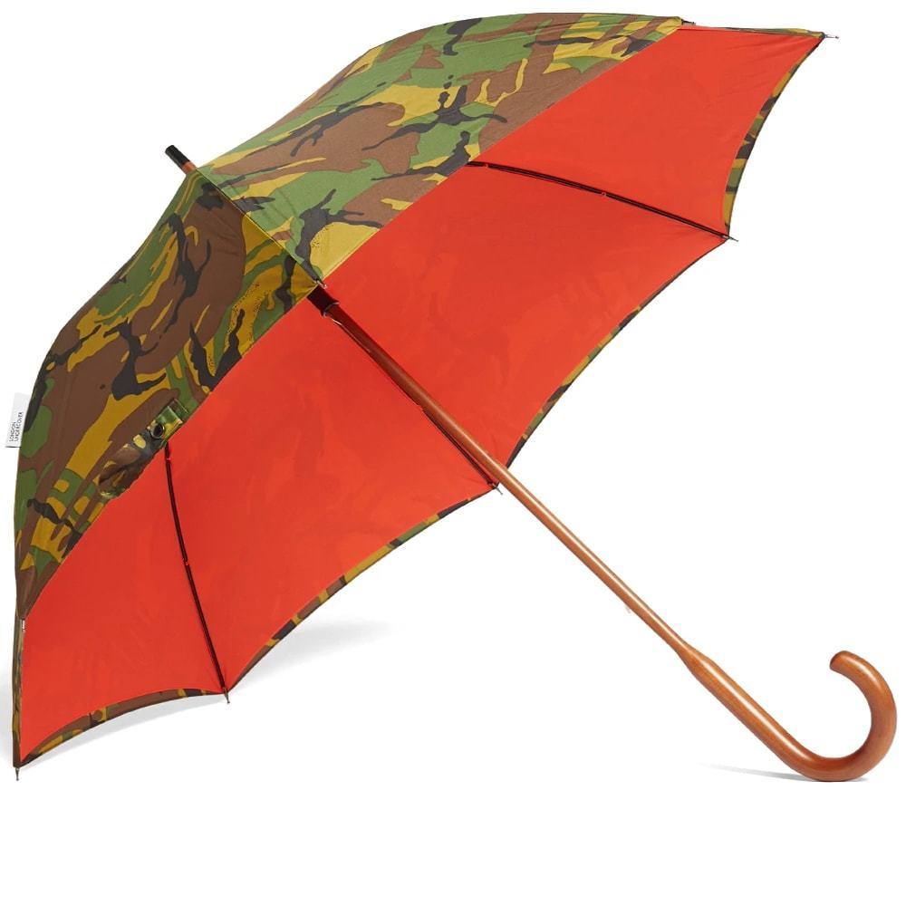 Photo: London Undercover Classic Umbrella Woodland Camo & Orange