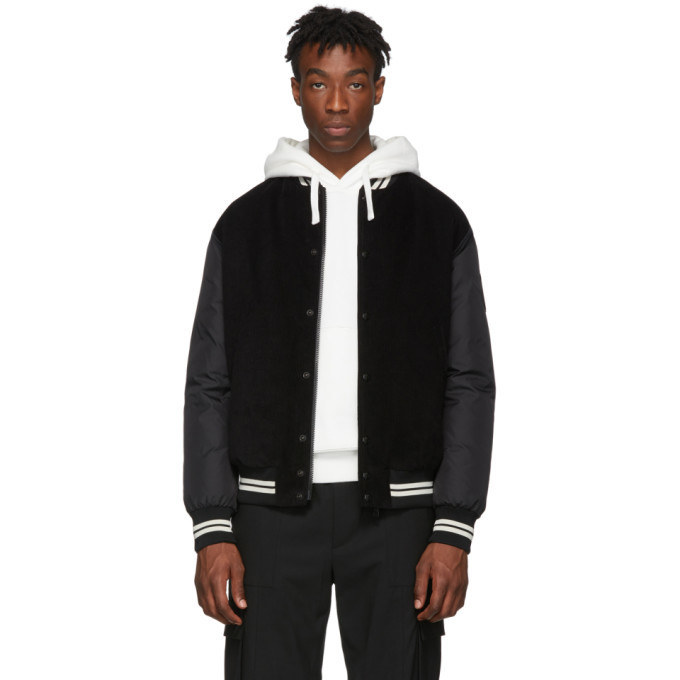 Photo: Moncler Black Exmoor Bomber Jacket