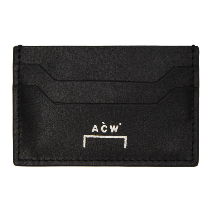 Photo: A-Cold-Wall* Black Logo Card Holder