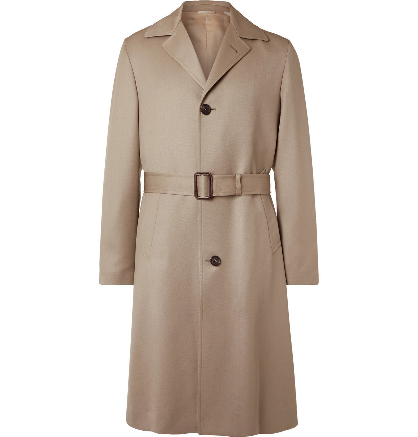 Photo: Saman Amel - Virgin Wool Overcoat - Neutrals