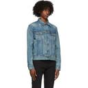 RRL Blue Denim Leeland Distressed Jacket