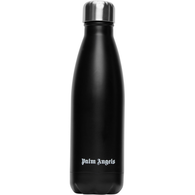 Photo: Palm Angels Black Save The Ocean Water Bottle