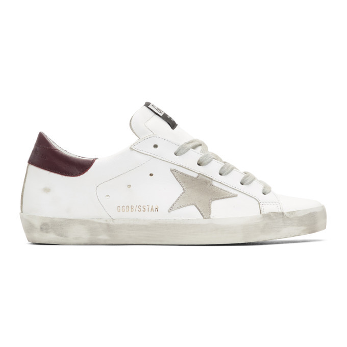 Golden Goose SSENSE Exclusive White and