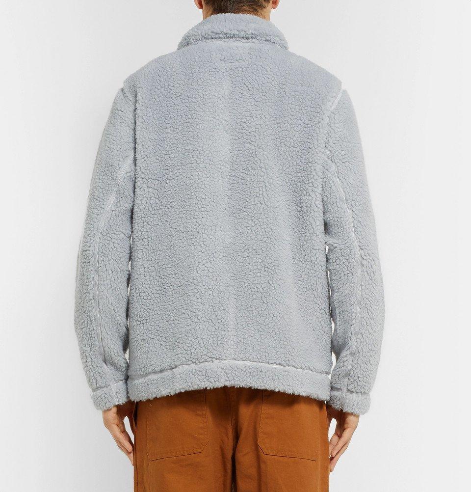 Jacket Albam Fleece Gray Men Albam Fleece qt8yBnyg