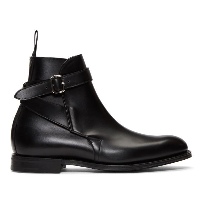 Photo: Churchs Black Bletsoe Boots