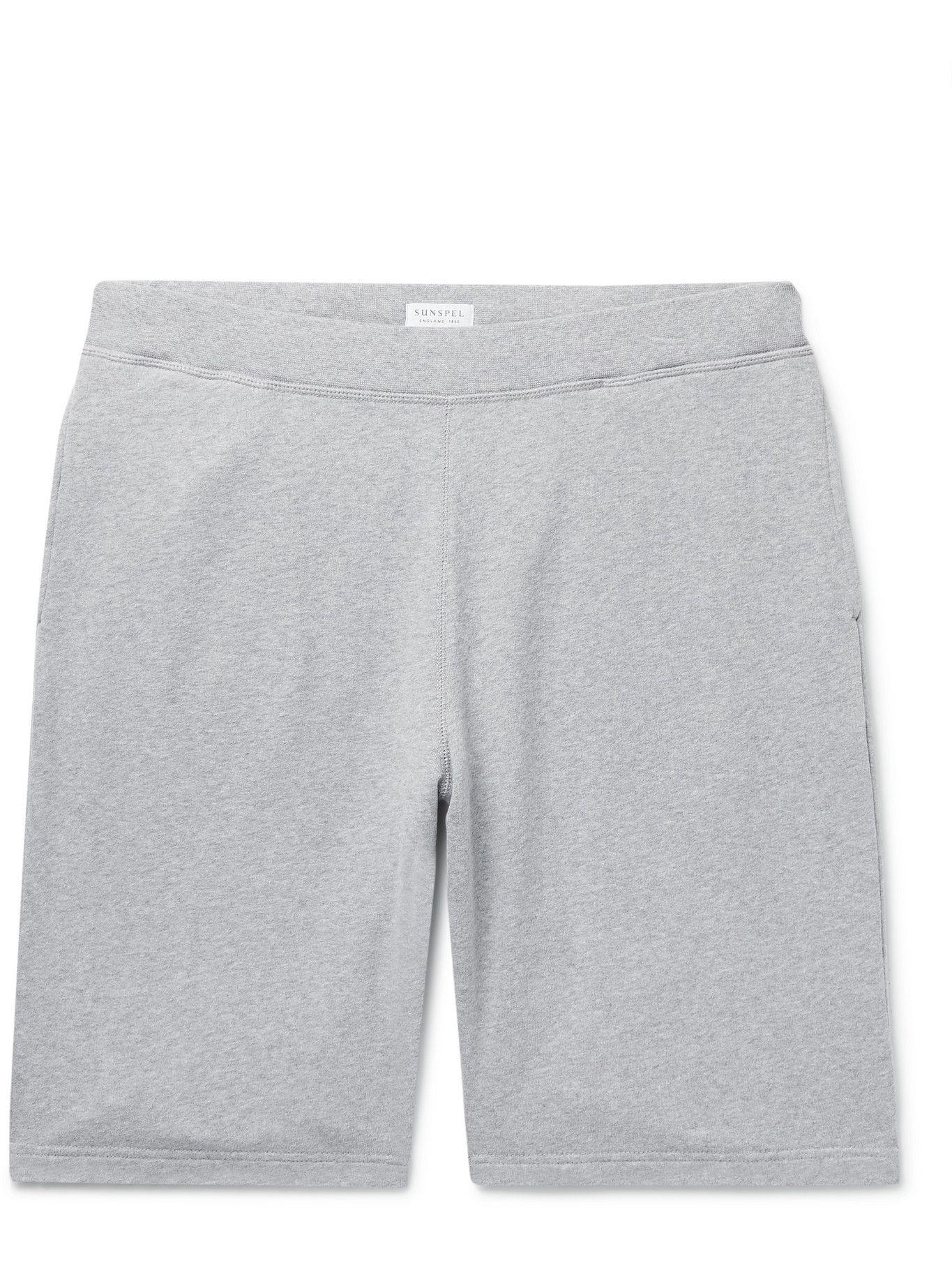 Photo: Sunspel - Cotton-Jersey Shorts - Gray
