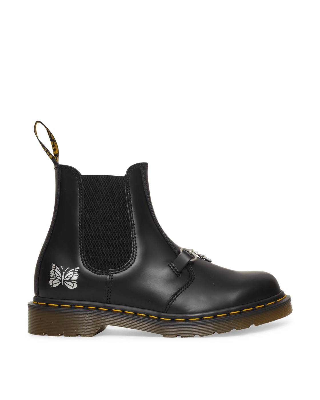 Photo: Dr Martens Needles 2976 Chelsea Boots Black Smooth