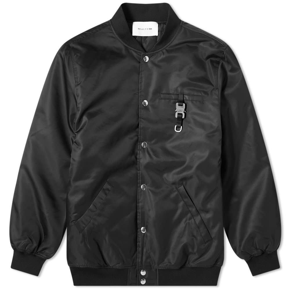 Photo: 1017 ALYX 9SM Buckle Detail Varsity Jacket