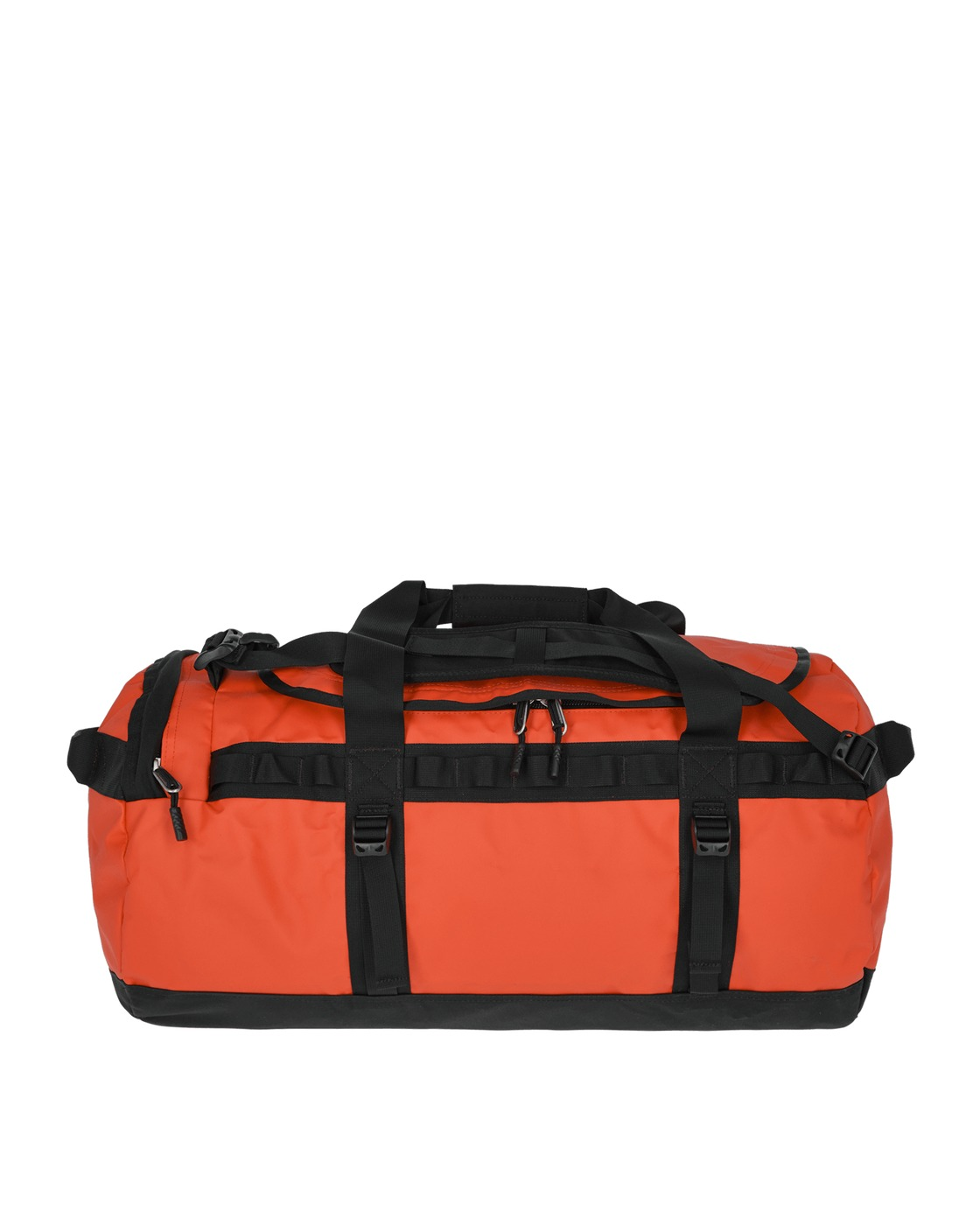 Photo: The North Face Medium Base Camp Duffel Bag Flare/Tnf Black