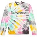 Aries - No Problemo Tie-Dyed Fleece-Back Cotton-Jersey Sweatshirt - Multi