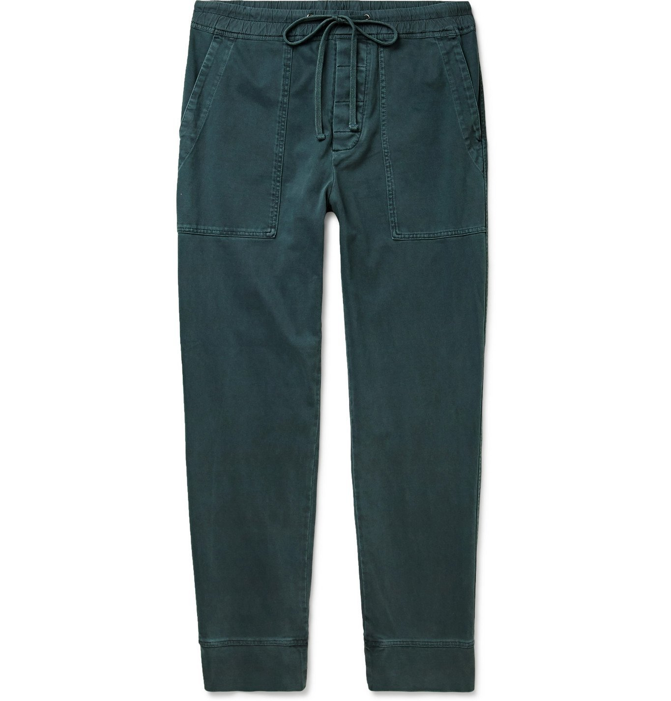 Photo: James Perse - Cotton-Jersey Sweatpants - Blue