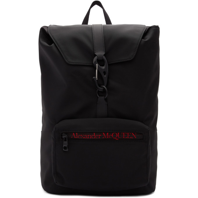 Photo: Alexander McQueen Black Urban Backpack