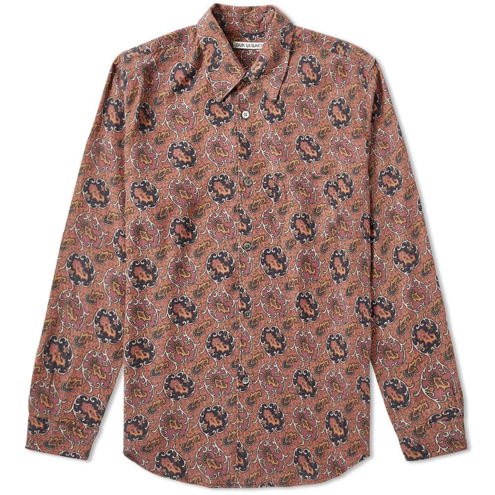 Photo: Our Legacy Initial Shirt Paisley Print